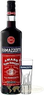 Ramazzotti Kräuterlikör 0,7 Liter aus Italien  Glas