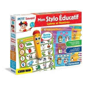 Clementoni - 52094-ADN - Mon Stylo parlant - Lettres et Nombres-Jeu éducatif