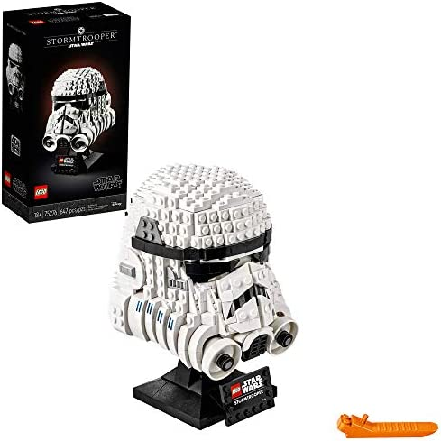 LEGO Star Wars Stormtrooper Helmet 75276 Building Kit Cool Star Wars Collectible for Adults product image