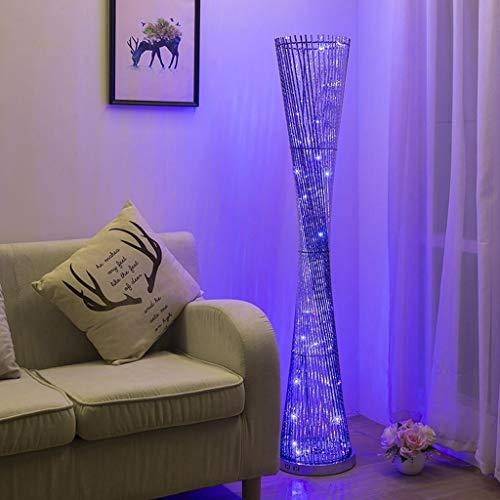 Modern Creative Floor Lamp LED Decoratie warme sfeer Lamp binnenverlichting Lengte Europese Retro Moderne H148 * D28CM Vloerlamp Plank Lamp LED