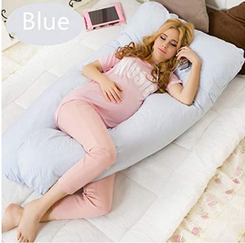 QZXCD Embarazo Almohada Ropa de Cama Almohada Completa para Mujeres Embarazadas Cómodo...