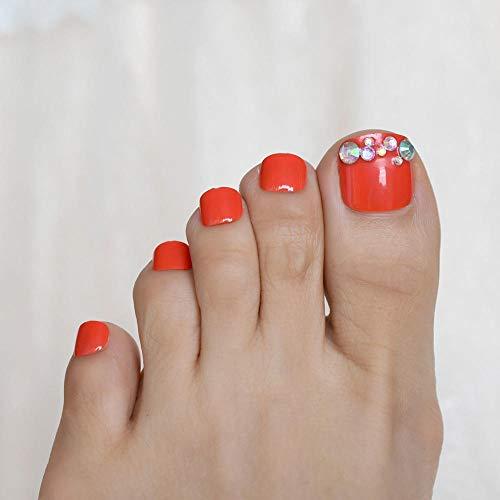 CSCH Faux ongles Conçu Court Unique Faux Ongles Lait Blanc Spécial Patten Quotidien Artificiel Nail pour Doigt avec Double Autocollants Ongles Conseils
