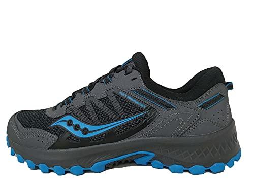 Saucony Men's Versafoam Excursion TR13 Black/Blue Running Shoe 10.5 M US
