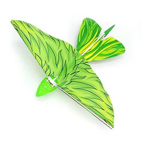 MHCYKJ Giocattolo Volante RC per Bambini, Telecomando da 2,4 GHz Volare Bird Elicotteri Giocattoli Mini Drone Electronic Telecomando Telecomando Regalo per Ragazzi E Ragazze,Verde