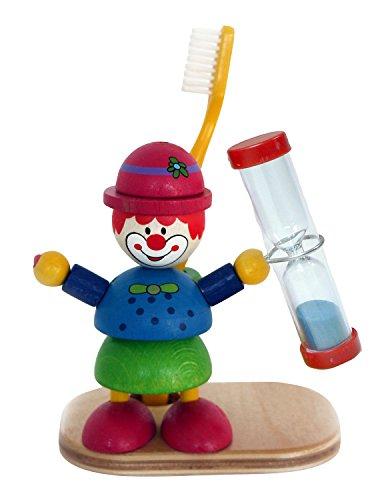 Hess Porte-brosse à Dents Clown en Bois