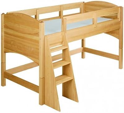BioKinder 22730 Ahorro establecen: Noah cama alta de 80 cm. Aliso Biológica