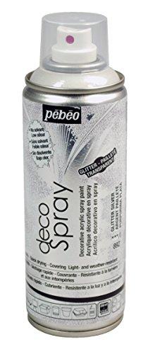 PEBEO Deco Spray, Glitter Argento, 200ml