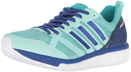 adidas Women's Adizero Tempo 9 Running Shoe, Clear Mint/Mystery Ink/hi-res Aqua, 5.5 M US