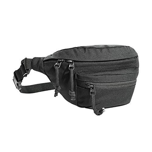Tasmanian Tiger TT Modular Hip Bag Taktische Bauchtasche Molle kompatibel EDC Tasche mit 3 Fächern (Schwarz)