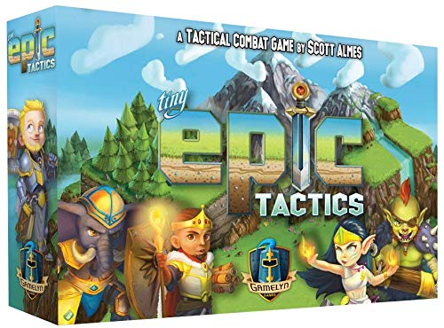 Gamelyn Games GLGTET Tiny Epic Tactics, Mixed Colours