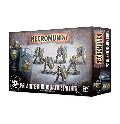 Games Workshop Necromunda - Palanite Subjugator Patrol