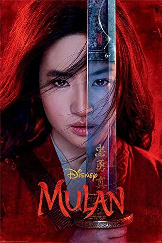 Disney Mulan poster Be Legendary (61cm x 91,5cm)