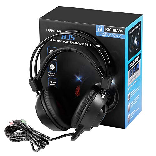 PLEXTONE PC835 USB LED Game Light Headset voor PC