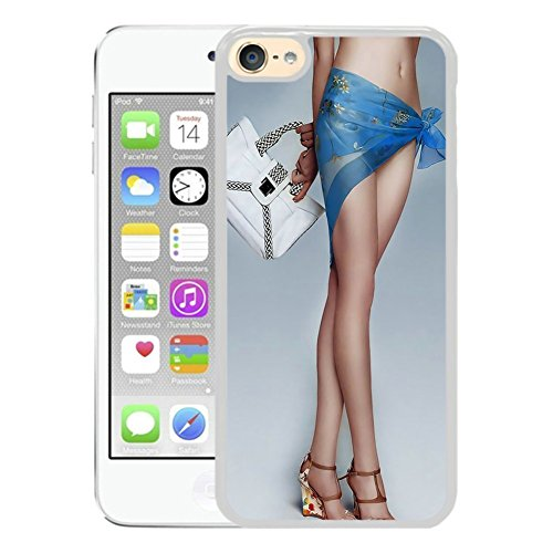 iPod Touch 6 Funda, APPLE iPod touch 6 Funda Beautiful Girls Sexy Ass [PC Color Negro