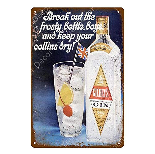 Shovv metalen bord Vintage Ice Cold Fosters Coors Bier metalen bord Wandbord Home Bar Pub Club Decor beroemde Whisky Wall Iron Poster 20*30CM S
