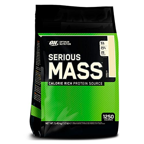 Optimum nutrition Serious Mass - 5,45 kg Cookies and Cream