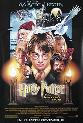 Póster Harry Potter and the Philosopher's Stone/HP y la Piedra filosofal HARRY POTTER - AND THE SORCERER'S STONE (68,5cm x 101,5cm) + 1 póster sorpresa de regalo