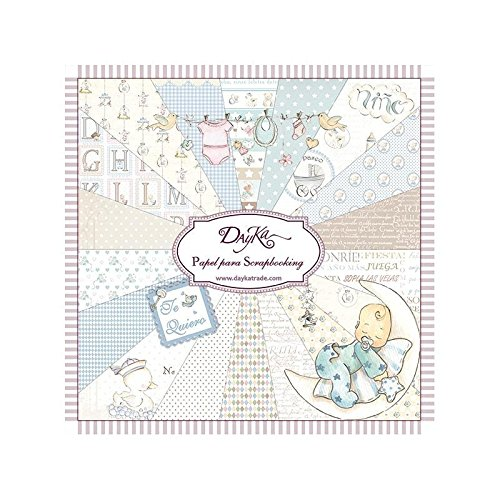 Dayka Trade Kit de Scrapbooking Niño 20x20cm