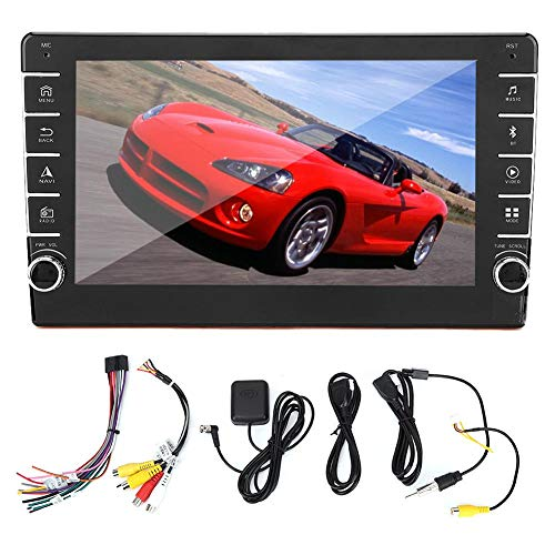 KIMISS Car Navigation System, 10.1in Car GPS Navigation Universal 2Din Stereo Radio Player para sistema Android