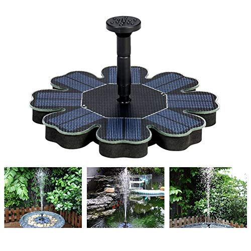 Solar Water Fountain Pump Solar Pomp Drijvende Fontein van het Water for Bird Bath Pond Garden Pool Decor 8V 1,6 W Zonnepaneel Waterpomp Kit dropshipping