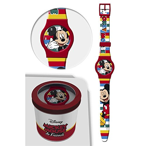 Star Reloj TOPOLINO Mickey Mouse Disney Analogue Wrist CONF. CM 24 - 50581ROSSO