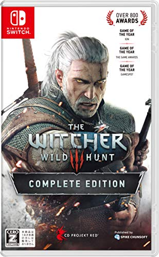 SPIKE CHUNSOFT THE WITCHER 3 WILD HUNT FOR NINTENDO SWITCH REGION FREE JAPANESE VERSION