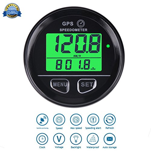 GPS Cuentakilometros Velocimetro digital Speed Meter Waterproof Digital GPS Backlight Speed Counter For ATV UTV Motorcycle Automobile motor vehicle Runleader RL-SM001