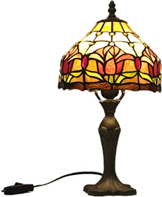 Graceful Luster Art Glass table lamp