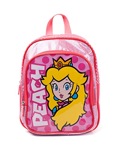 Nintendo Super Mario Bros.Princess Peach Kids Wit (Bpy10127Ntn) Kinderrugzak, 30 cm, Roze