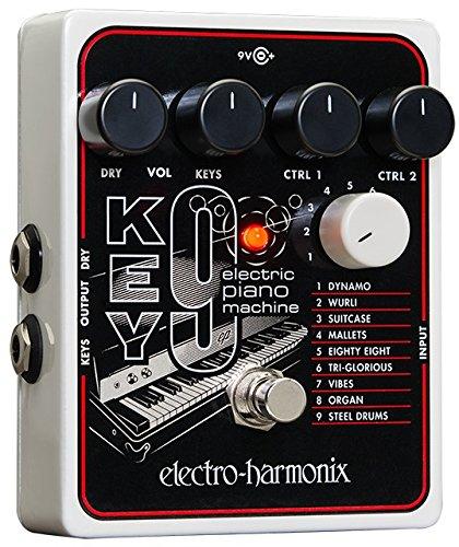 Electro Harmonix 665234 Effect voor elektrische gitaar met synthesizer Filter Key 9 Piano machine