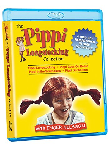 Pippi Longstocking Collection (4 Blu-Ray) [Edizione: Stati Uniti] [Italia] [Blu-ray]