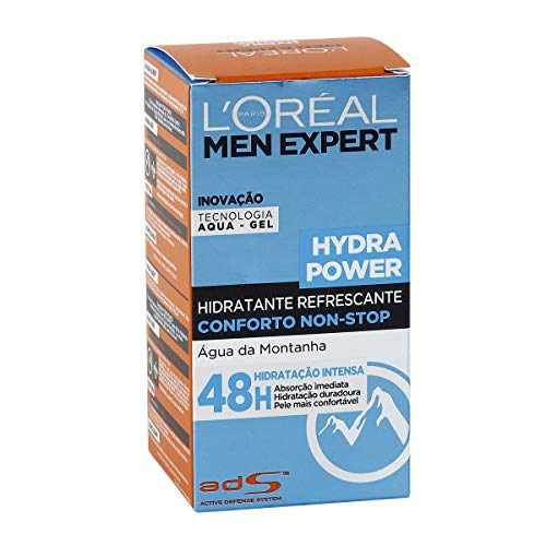 L'Óreal Paris Men Expert Hydra Power - Gel Hidratante Refrescante, 50 ml