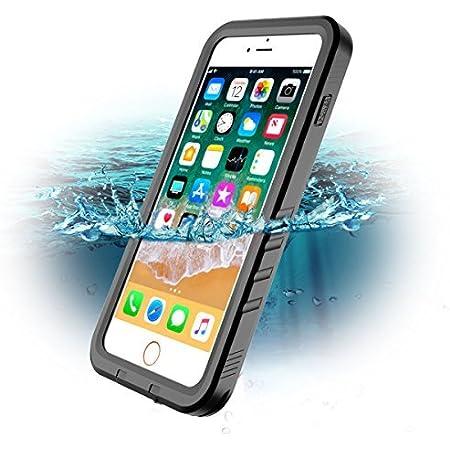 Custodia Impermeabile per iPhone 7 Plus iPhone 8 Plus, SPORTLINK IP68 Certificato Waterproof Cover Antiurto Antineve Antipolvere Antigraffio Subacquea ...