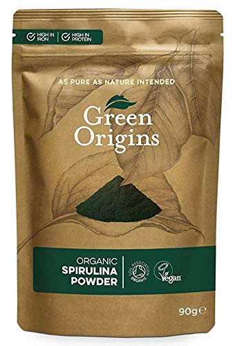GREEN ORIGINS | Spirulina Powder Organic | 4 x 90g (ES)