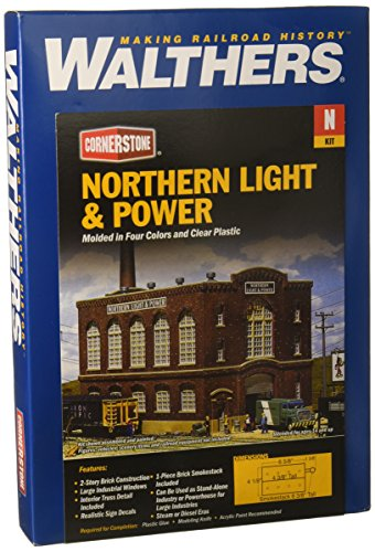 Walthers Cornerstone 933-3214 krachtcentrale Northern Light en Power