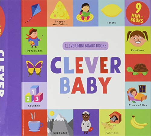 Clever Baby: 9 Mini Board Book Box Set (Clever Mini Board Books)