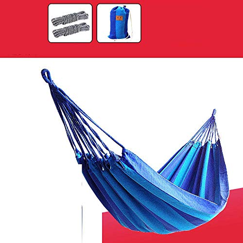Camping hangmat Hangmat Outdoor Enkel Dubbel Canvas Camping Swing Beach Portable comfortabel en ademend (Color : Style 5, Size : 200 * 80cm)