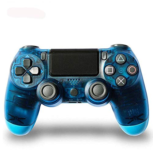 GamepadPS4 wireless game controller handle PS4 Bluetooth controller handle PS4 gamepad joystick for Playstation 4 stand PS4 crystal blue