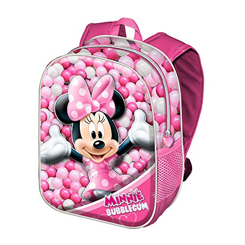 Karactermania Minnie Mouse Bubblegum kinderrugzak, 39 cm, roze