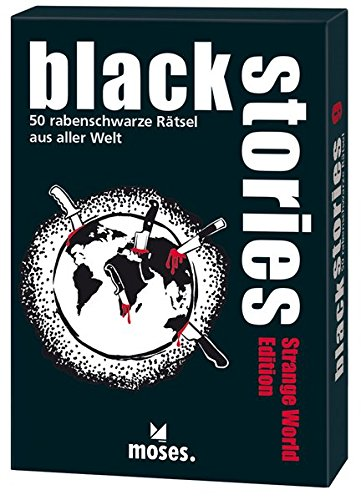 black stories - Strange World Edition: 50 rabenschwarze Rätsel aus aller Welt