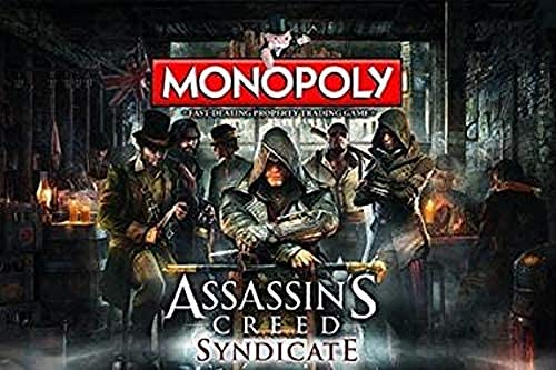 Assassins Creed Monopoly Board Game