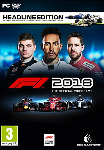 Formula 1 (F1 2018) (Headline Edition) PC DVD