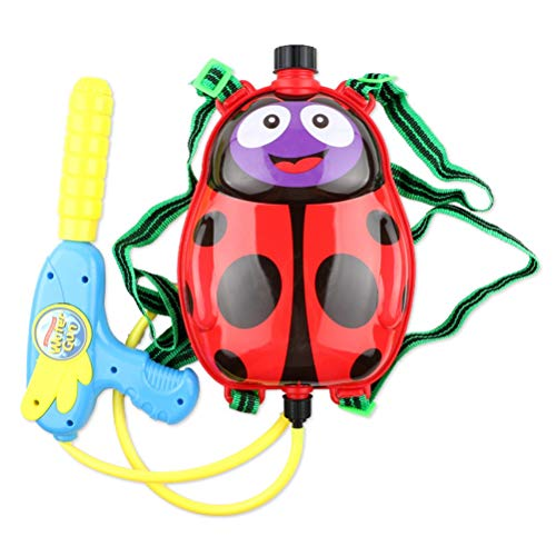Mlamat Rugzak Water Blaster Wet Toys, rugzak Water Gun Toy Set Cartoon Animal Backpack met Spray Water Toy Water Gun Backpack