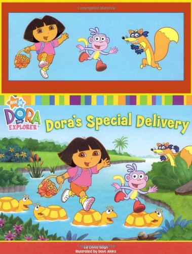 Dora's Special Delivery [With Pegged Play Pieces] (Dora the Explorer)