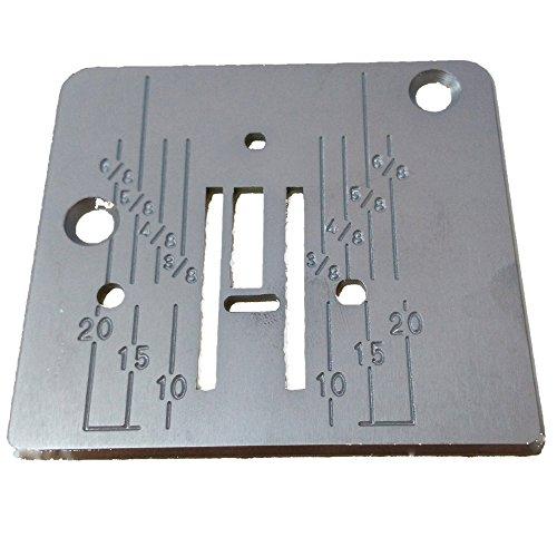 HONEYSEW Needle Plate for Babylock Janome New Home Viking Pfaff 744004001/739008009/744004104