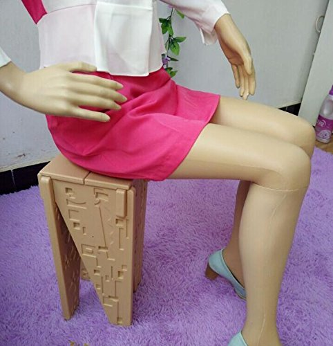 wholesale All plastic mannequins, props, ladies, models, clothing stores, display stands, cosmetology sitting models 1PC B895