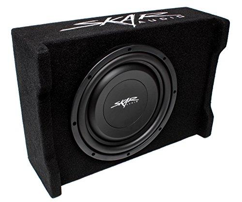 """Skar Audio EV-10MB S4 10"""" Single 4-Ohm 400W Shallow Mount Loaded Subwoofer Enclosure"""