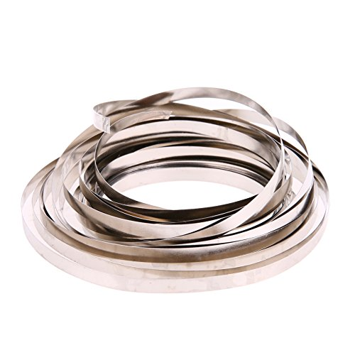 Vanpower 5M Ni Plate Nickel Strip Tape For Li 18650 Battery Spot Welding 0.12x4mm