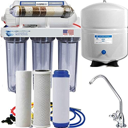 Reverse Osmosis Alkaline Ionizer Neg ORP Potential System 100 GPD
