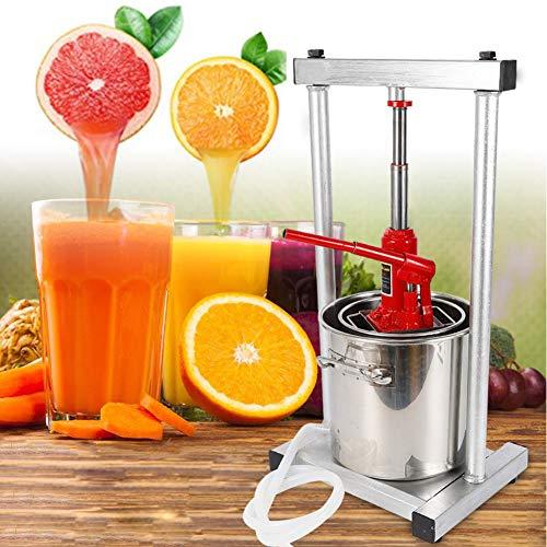 Juicer TBVECHI 12L Fruit Crusher Fruit press Stainless Fruit Press Crusher Grinder Wine Juice Maker